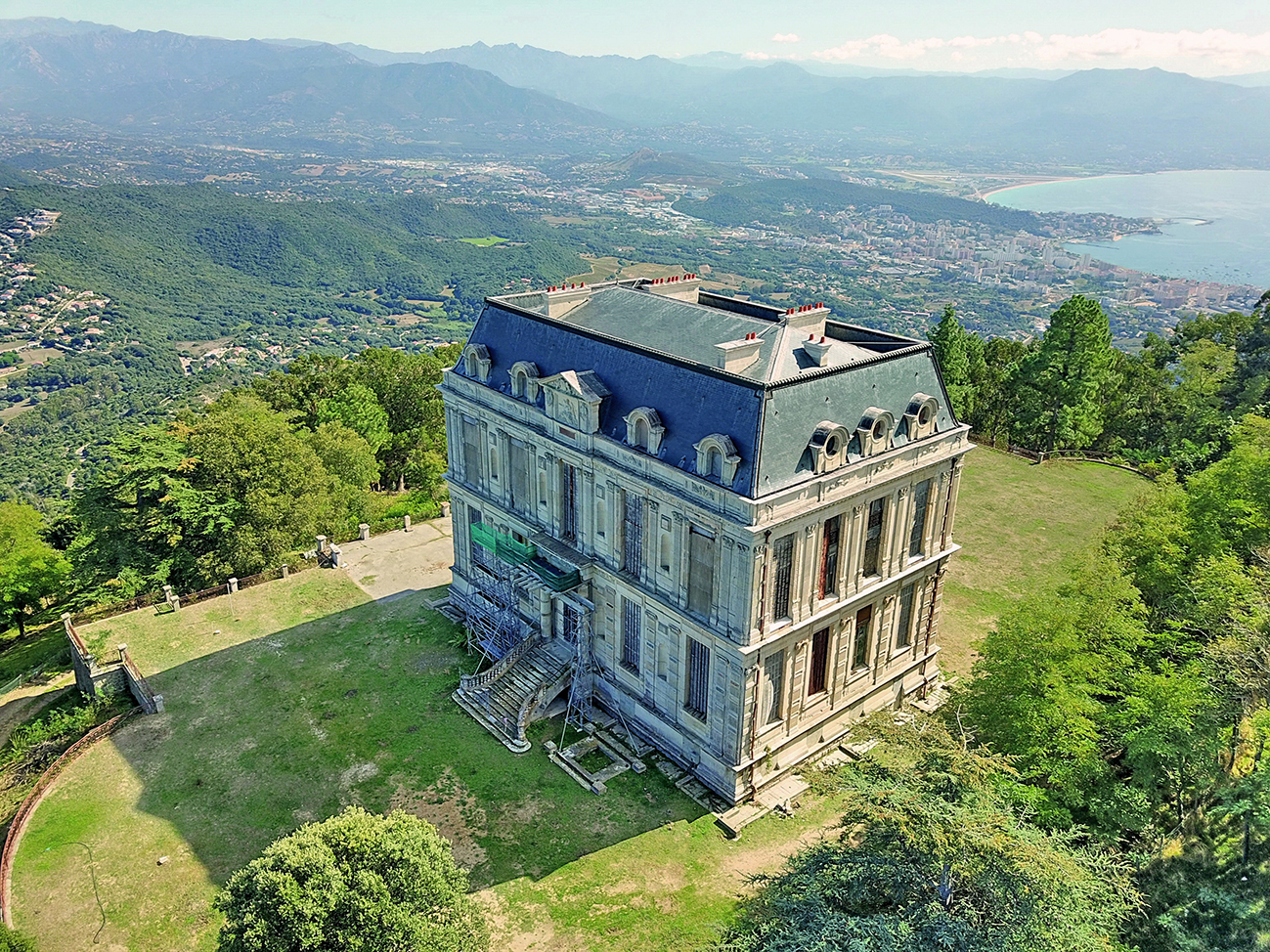 Photo du château de la Punta