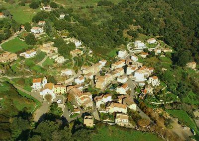 Image du village prise en drone